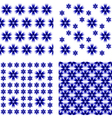 Design seamless cornflower pattern vector image vector image