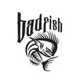 dorado dolphin fish angry skeleton badfish retro