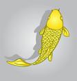 koi fish design vector image vector image