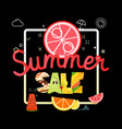 summer sale season sale concept vector image vector image
