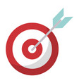 target blank objetive strategy vector image