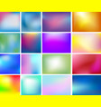 abstract blurred color background vector image