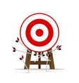 all miss the target goal vector image vector image