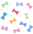 bow background vector image vector image