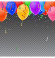 Celebration background template vector image vector image