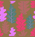 leaves pattern nature vector image