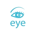 logo eye vector image vector image