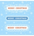 merry christmas collection frame vector image vector image