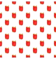 Red paintball vest pattern cartoon style vector image vector image