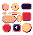 11 elements vector image vector image