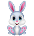 Cute baby rabbit cartoon vector image vector image