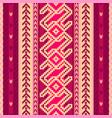 ethnic fabric pattern vector image