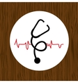 medical symbol design vector image vector image
