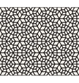 Seamless Black and White Rounded Lace vector image vector image