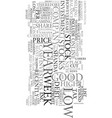 your prey for text word cloud concept vector image vector image