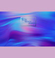 abstract fluid creative templates cards color vector image