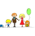 Cartoon Family vector image