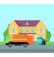 Cleaning Garbage From the City Streets vector image vector image