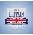 Made in Britan United Kingdom badge vector image