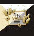 super sale banner background template with vector image vector image