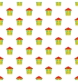 Two storey house pattern cartoon style vector image vector image