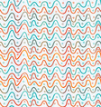abstract colored lines seamless pattern vector image