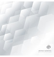 abstract technology gray and white geometric vector image vector image