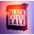 Black Friday sale vector image vector image