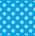 casino chip pattern seamless blue vector image vector image