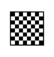 Chess board icon vector image vector image