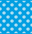 coin bat pattern seamless blue vector image vector image