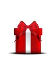 giftbox chirstmas vector image vector image