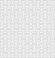 Grey and white geometric seamless pattern vector image vector image