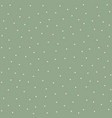 seamless pattern with white dots vector image