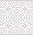 white and gray geometric seamless pattern vector image vector image