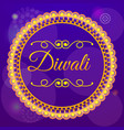 diwali sale concept background cartoon style vector image