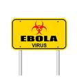 ebola virus2 vector image vector image