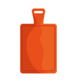 kitchen board isolated icon vector image vector image