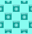 laundry room seamless pattern washing machine vector image vector image