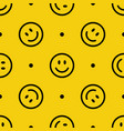 smile line icon pattern abstract vector image vector image