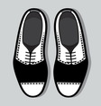 Tango shoes1 resize vector image
