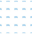 weapon truck icon pattern seamless white vector image vector image