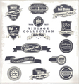 Premium Quality Labels Collection vector image