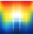 Blurred vibrant rainbow colors abstract background vector image