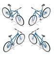 Bicycle isometric New bicycle vector image vector image