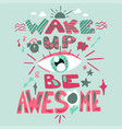 inspirational hand drawn color vector image vector image