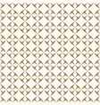 ornamental seamless golden abstract pattern vector image