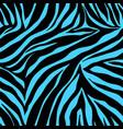 print zebra ornament seamless pattern vector image vector image