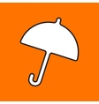 umbrella icon Eps10 vector image vector image