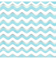 white wave seamless pattern vector image vector image